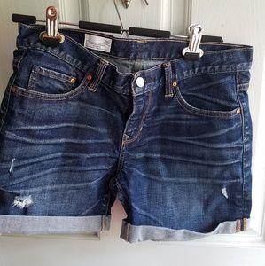 Gap Sexy Boyfriend Denim Shorts